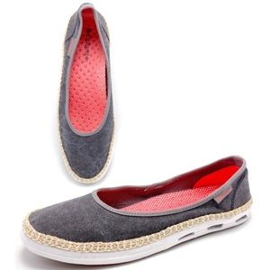 Columbia Bettie Vulc N Vent Canvas Sneaker Flats